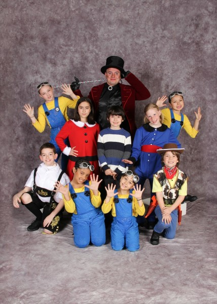 Willie Wonka and the Chocolate Factory Groups